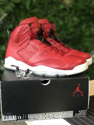 the latest 4fbc0 478fd Jordan 6 (VI) Retro Spiz ike  History of Jordan  US12 UK11