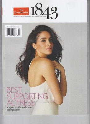 Meghan Markle The Economist 1843 Magazine June July 2018 Best Supporting Actress