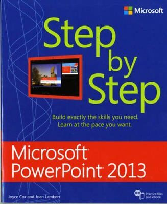 Microsoft Access 2013 Step by Step by Joan Lambert 9780735669086