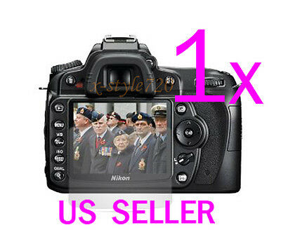 1x Clear LCD Screen Protector Guard Cover Film For Nikon DSLR D90