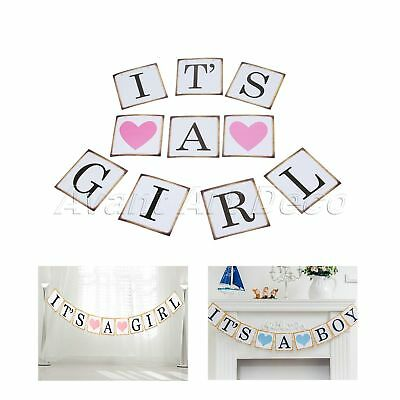 It S A Girl Bunting Banner Baby Shower Welcome Home New Baby Girl