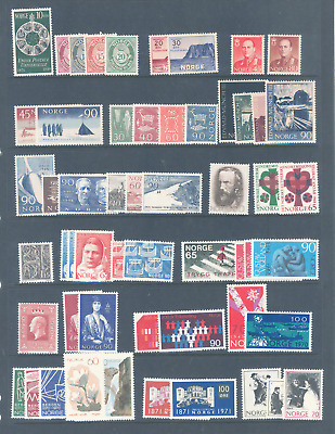 Norway Selection Of Stamp Sets Very Fine Mnh And Very Cheap..