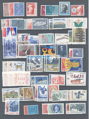 Norway Selection Of Stamp Sets Very Fine Mnh And Very Cheap.