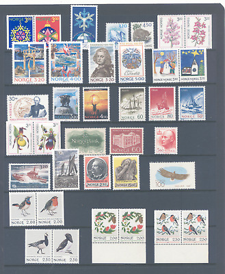 Norway Selection Of Stamp Sets Very Fine Mnh And Very Cheap