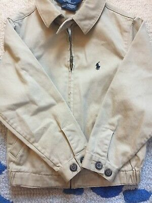 Ralph Lauren Lightweight Tan Jacket Size 4/4T