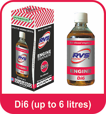 RVS - Master Diesel Engines Treatment up to 6 Litres Fuel Economy