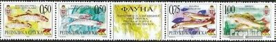 Serbian Republic bos.-h 135-138 five strips mint never hinged mnh 1999 Freshwate