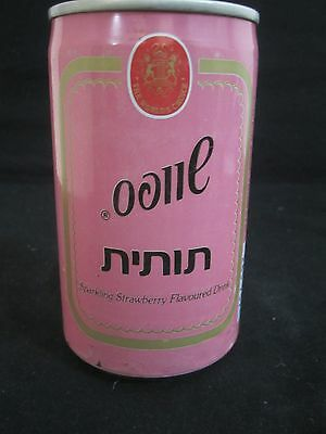 Schweppes  tutit  : a 330 ml  empty  can, israel, 1991. sealed  can !!!