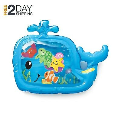 Baby Toy Pat And Play Inflatable Water Mat By Infantino for High Chairs Pool Fun