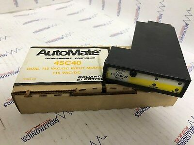 RELIANCE ELECTRIC AUTOMATE DUAL OUTPUT MODULE 802812