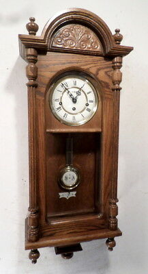 Vintage RA Vienna Regulator With Quarter Hour Westminister Chimes