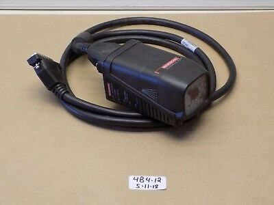 +Used Pulloff Microscan Barcode Scanner Reader Fis-6700-0003