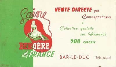 BUVARD 108872 BERGERE DE France BAR LE DUC LAINE BAR -JUN