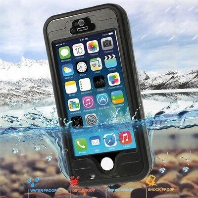 COVER CUSTODIA Armor Cantiere Antiurto Subacquea Waterproof per iPhone 5 S SE