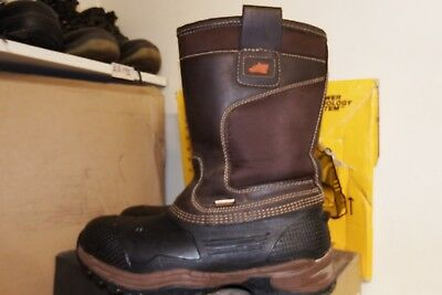 57be696f06a HYENA NEVIS SAFETY RIGGER BOOTS BROWN SIZE 10/44 Safety Boots ...