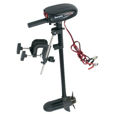 Sevylor 12 Volt Electric Trolling Fishing Hunting Boat Motor w/ Built-In Mount