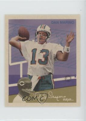 1997 Fleer Goudey II Gridiron Greats #13 Dan Marino Miami Dolphins Football Card