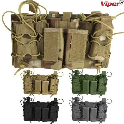 Viper Modular Mag Rig Pouch Tactical Magazine Ammo Holder Army Webbing Airsoft