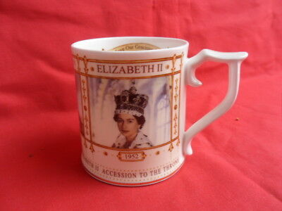 Sutherland, HM The Queen, 50th Year of Accession, Commemorative Mug