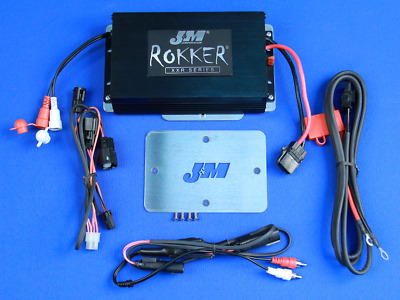 J&M Audio 350 Watt 2 Channel Amp Kit 2015 & Up Harley-Davidson Road Glide