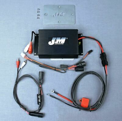 J&M Audio 200 Watt 2 Channel Performance Amp Kit 2015 & Newer Harley Road Glide