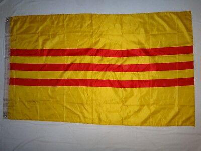Vietnam War REPUBLIC OF VIETNAM ARVN Jumbo Size Battle Flag