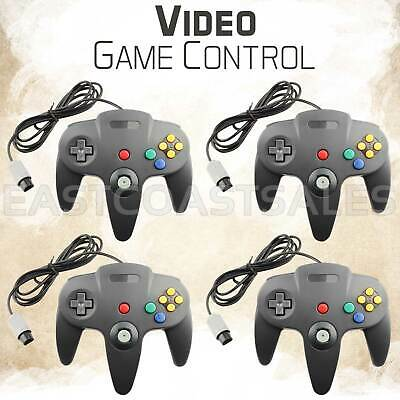 4x Remote Controller Video Game System Pad for Nintendo 64 N64 US Ship