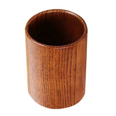 Kitchen Utensil Holder Wooden Cutlery Flatware Organizer Caddy Storage
