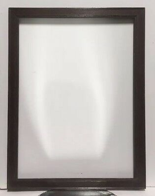 "Antique Arts and Crafts Mission OAK Picture Frame Fits 17 1/2"" x 24"""