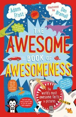 The Awesome Book of Awesomeness by Adam Frost 9781408851180 (Paperback, 2014)