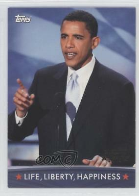 2008 Topps President Obama Collector Trading Cards 83 Life Liberty Happiness 1md