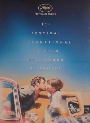 Cannes 2018 Film Festival - Car / Pierrot Le Fou - Original Small French Poster