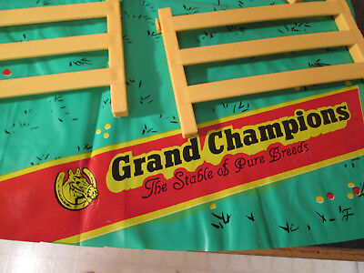 Vintage Grand Champion Riding Academy Horse Stable Playset Parts