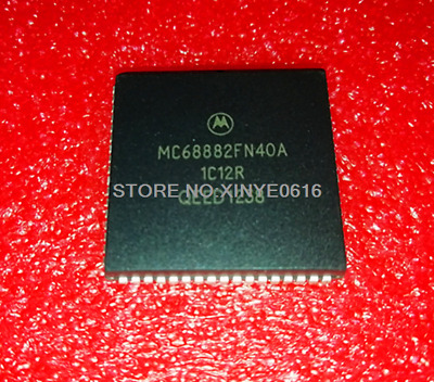 Hot Sell  5PCS  MC68882FN40A    MC68882FN40A  MOT  PLCC68  HCMOS Enhanced  Chip