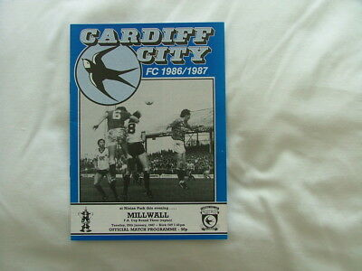 Cardiff v Millwall 86/87 ( FACR3 replay )