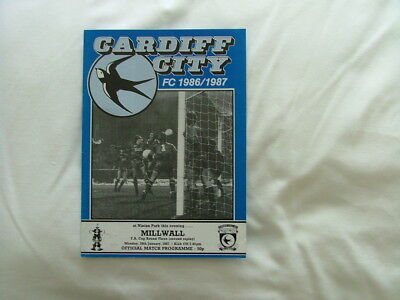 Cardiff v Millwall 86/87 ( FACR3 second replay )