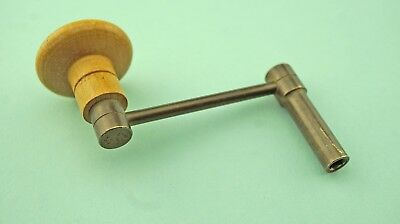 Vintage Grandfather / Longcase Clock Cranked Winder Key