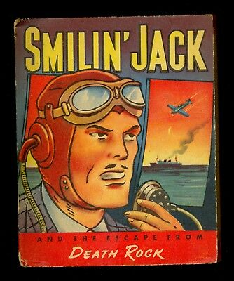 1943 Smilin' Jack & the Escape From Death Rock Big/Better Little Book #1445 - FN