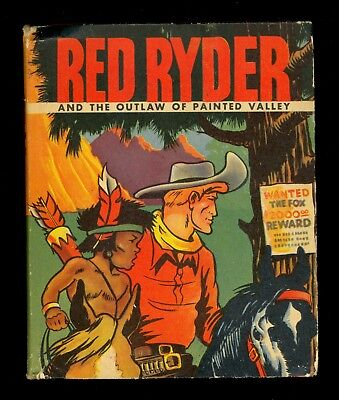 1943 Red Ryder & the Outlaw of Painted Valley Big/Better Little Book #1475 - VF