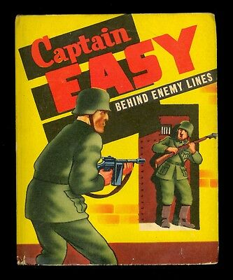 1943 Captain Easy Behind Enemy Lines Big/Better Little Book #1474 - FN