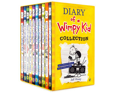 Diary Of A Wimpy Kid 10-Book Collection