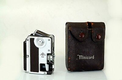 Goerz Minicord III  The Only TLR Sub-Miniature 16mm camera