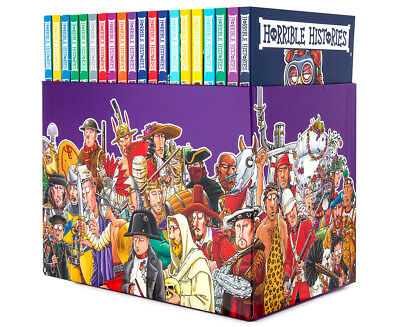 Horrible Histories Blood-Curdling 20-Book Collection