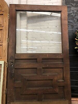 "Industrial Office Door Arts N Crafts Craftsman Front Door 94""x53"