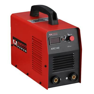 Amico Power 140 Amp Stick Arc Welder IGBT Inverter DC Welding Machine 115-Volt