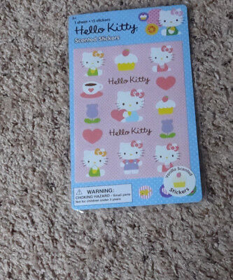 Nip Hello Kitty Scented Stickers-1 Sheet Package