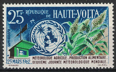 HAUTE-VOLTA:1962 SC#95 MNH - UN 2nd World Meteorological Day, Mar. 23