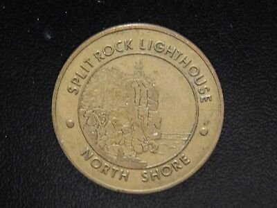 Split Rock Lighthouse North Shore Lake Superior Circle Route Token!  Ww750Uqt
