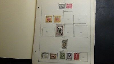 Ecuador stamp collection on Scott Int'l pages '34- 2008 w/ 1,130 stamps