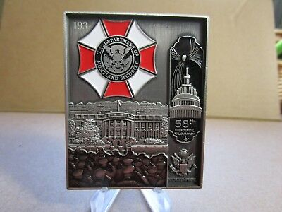 President Donald Trump 58th POTUS Inauguration Invitation Serial Challenge Coin